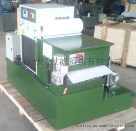 立式加工中心冷却箱上配备精过滤系统