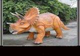 自贡仿真恐龙之仿真机械三角恐龙
