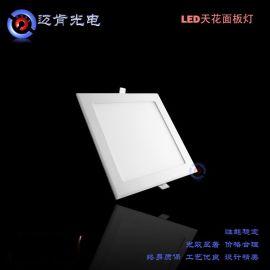 新款商业照明LED室内照明 方形15W 天花灯 led面板灯AS15