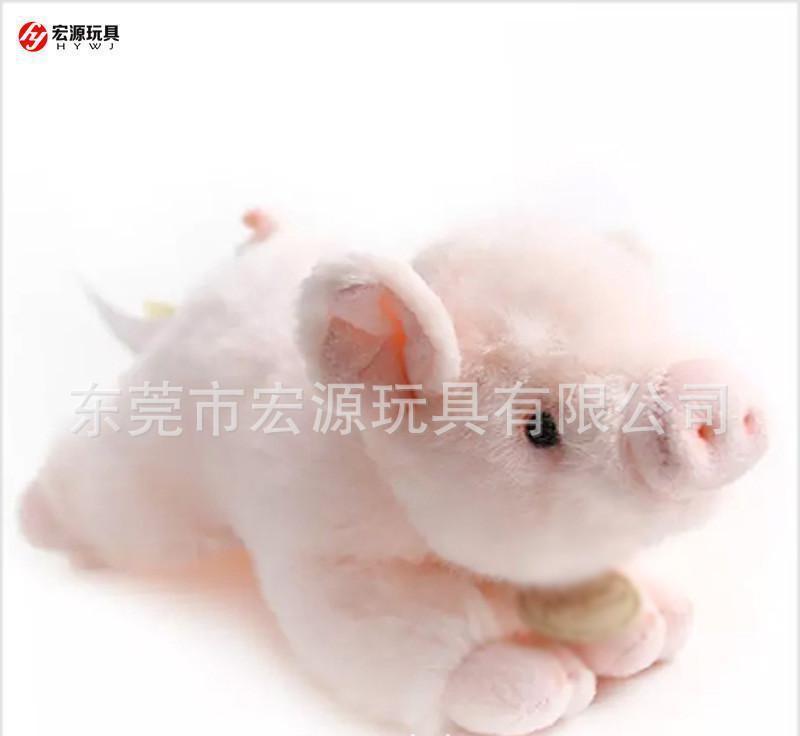 定製新款精品玩偶 毛絨玩具公仔穿衣豬 可愛肉肉豬豬定製