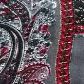 2018国外流行花型出口欧洲围巾印花布工厂定制