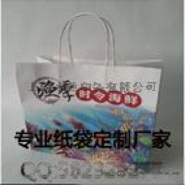 牛皮纸质手拎袋生产工厂、手提袋、上海手提纸袋印刷报价 价格