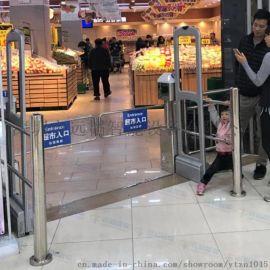 超市自动单向感应门摆闸超市感应门生产厂家