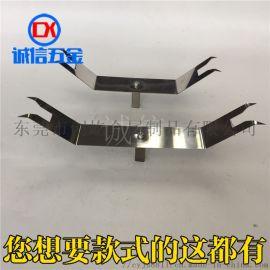 五金电镀加工表面处理 金属电泳涂装挂钩喷油夹具CY92