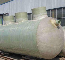 SMC模压玻璃钢化粪池 玻璃钢沉淀池污水处理设备