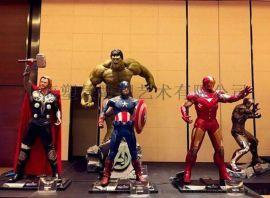 深圳玻璃鋼綠巨人雕塑商場廣場展覽擺件定製