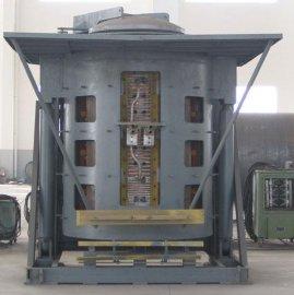中频10吨钢壳熔炼炉