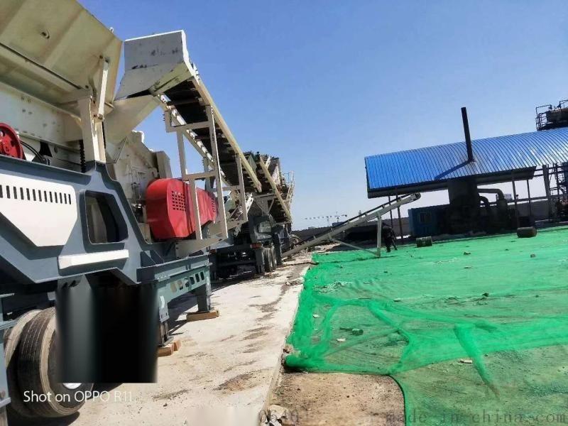 移动建筑垃圾破碎站厂家,湖北矿石破碎机