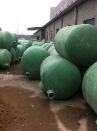 成品玻璃钢一体化化粪池安装方法