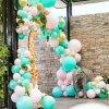 昆明花語花香氣球年會氣球布置氣球商場布置