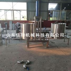 江西中药渣压榨机,液压式省人工的脱水压榨机
