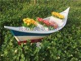 南京装饰船厂家 人工湖上的景观木船导航船 景观船