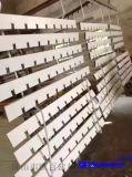 室內走廊通道專用鋁格柵吊頂廠家 三角形鋁格柵吊頂