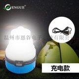 USB硅胶野营灯 七彩睡眠氛围彩灯EG-988