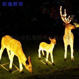 仿真动植物树脂景观灯 中山恒逸景观灯 园林景观灯