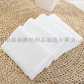 億嘉禾酒店白毛巾廠家銷售吸水不掉毛