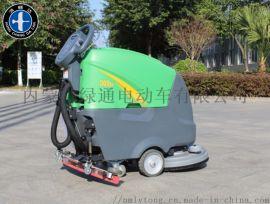 内蒙电动洗地车,手推式洗地车,驾驶式全自动洗地车
