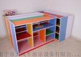 南寧幼兒傢俱 玩具書包櫃 防火板組合櫃 南寧廠家