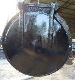 DN1200鑄鐵拍門排污管道口1200