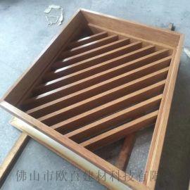 環保可回收仿古鋁窗花 6063-T5材質鋁窗花