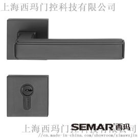 纯铜执手门锁 上海西玛C905308门锁