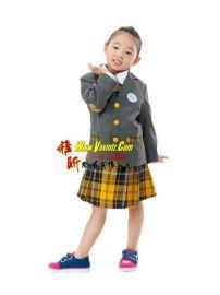 制衣厂订做新款幼儿园服中小学生校服正装礼服韩版西装