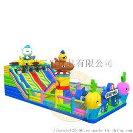 大型儿童充气滑梯厂家特色款式