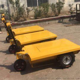 小型货物搬运平板车 短距离运输车 手推平板车