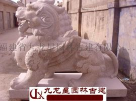 镇宅石雕貔貅  惠安石头雕刻貔貅厂家九龙星