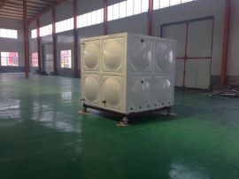 隐藏式水箱玻璃钢圆柱保温水箱环保防盗