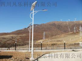 四川成都太陽能單臂路燈廠家