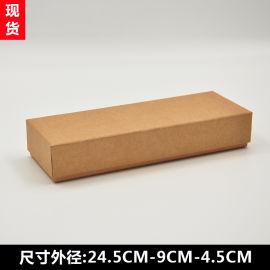 现货牛皮纸钱包梳子袜子卡包皮带盒 可定制设计