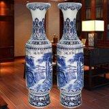 青花瓷落地大花瓶 开业礼品专用陶瓷大花瓶 厂家定做