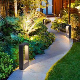 戶外防水草坪燈庭院燈景觀燈花園燈別墅園林會所戶外燈庭院燈柱