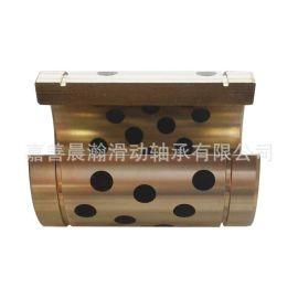 定制开口石墨铜套,铜石墨轴承,JDB自润滑轴承