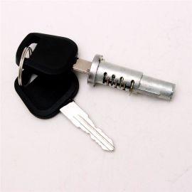 工程车遥控控制门锁各种材质型号工程车锁芯加工定制