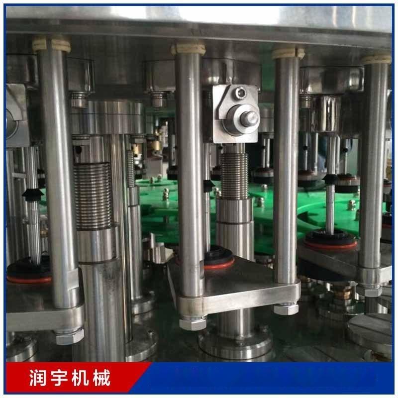 苏州厂家供应全自动灌装机 三合一瓶装灌装机 果汁饮料灌装机