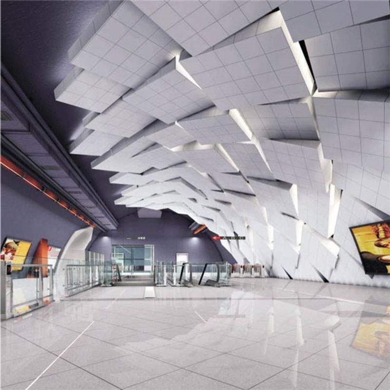 外牆氟碳鋁單板廠家定製內幕牆鋁單板裝飾材料