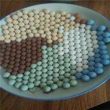 供应优质多色托玛琳陶瓷球 电气石球 负离子颗粒