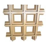 厂家直销各种色彩木纹铝格栅吊顶天花规格定制铝格栅