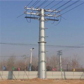 华兴 厂家供应10KV 35KV双回路电力钢杆电力钢杆 电力管塔 转角杆 终端杆 其他配电输电设备