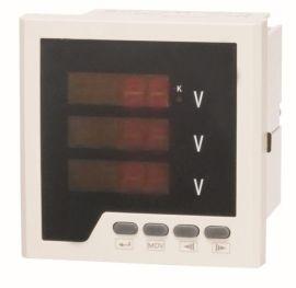 嵌入式安裝電壓表