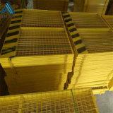 基坑带网护栏/浸塑安全护栏