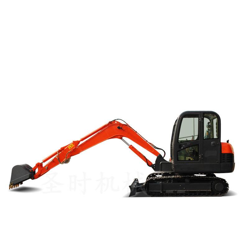 山东回填土小型挖掘机 履带式挖机 多功能挖掘机