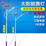 6米新款小金豆太陽能路燈30W50W