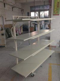 展雅实业供应 布路奇 四轮单边5层针织松布架 托布架 针织专用
