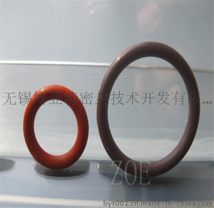 耐高温白色硅胶O型圈、进口红色SIL密封件