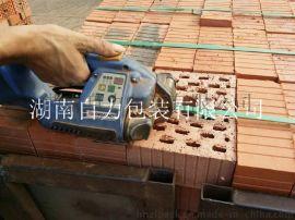 砖块打包机ORT250一键式打包 拉力2500N砖厂打包**