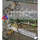 自行车存车架上海镀锌管自行车存车架 自行车停靠架