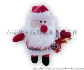 毛绒玩具加工,毛绒玩具定制,圣诞节礼品玩具,圣诞老人